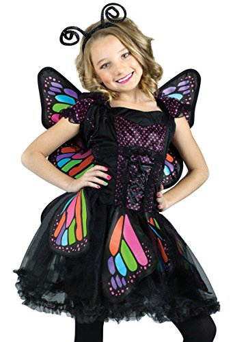 Fun World Rainbow Butterfly Girl's Costume