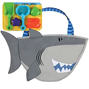 Kids Beach Tote with Toys Joseph Shark Beach Tote