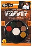 Rubie's Costume Co Women's Reel FX 7-Color Makeup Palette