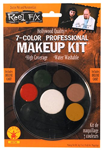Rubie's Costume Co Women's Reel FX 7-Color Makeup Palette