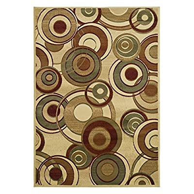 Safavieh Lyndhurst Collection LNH225A Ivory and Multi Area Rug