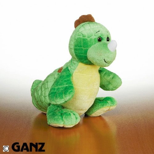 Webkinz Key Lime Dino with Trading Cards - 1