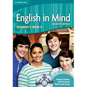 English in Mind Level 3 Student's Book with DVD-ROM Herbert Puchta, Jeff Stranks, Richard Carter and Peter Lewis-Jones