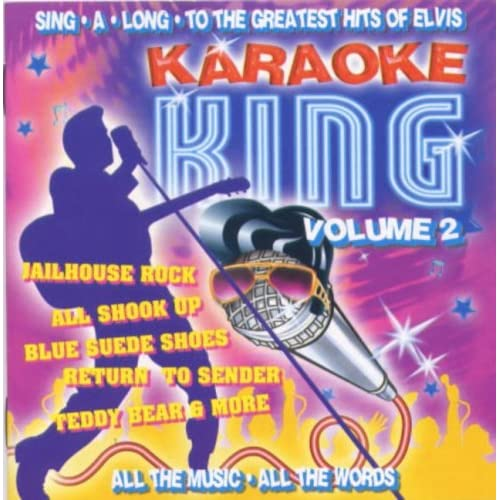 Karaoke-King-Vol-2-Elvis-Presley-Audio-CD