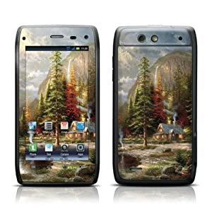 Mountain Majesty Design Protective Skin Decal Sticker for Motorola Droid 4 Cell Phone