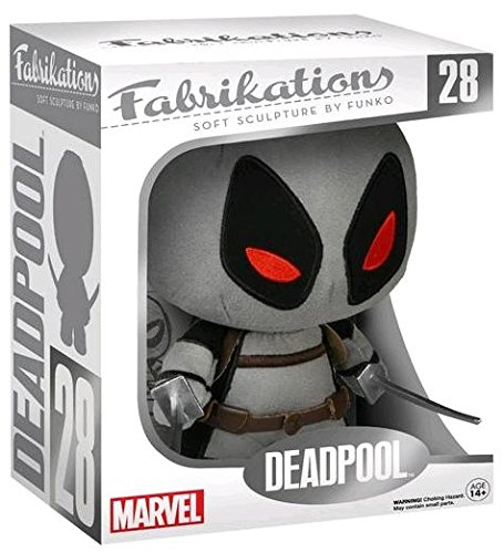 Funko Fabrikations Deadpool Grey/Black #28 Soft Marvel Soft Sculpture Exclusive