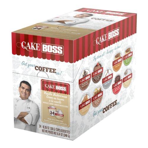 "Cake Boss Coffee ""Vanilla Buttercream"" Single Serve Cups 4 X 24 (96) Count"