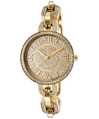 Michael Kors Delaney Gold Crystal Pave Gold-tone Ladies Watch MK3268