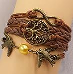 D'amelie Armband aus Leder in untersc...