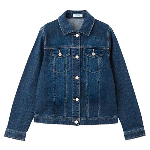 Amazon.co.jp: Navy(ネイビー) ストレッチデニムGジャン 63363127 レディース: 服&ファッション小物通販