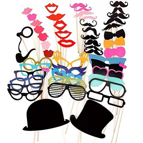 pixnor-51pcs-bricolaje-gafas-graciosas-bigote-labios-rojos-pajaritas-sombreros-fumando-pipas-en-pali