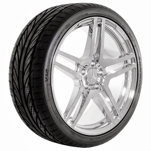 18 Inch Chrome 610 Series Wheels Rims and Tires