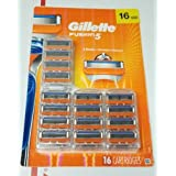 Gillette Fusion5 Men's Razor Blades - 16 Cartridge Refills (Packaging May Vary), Mens Razors / Blades