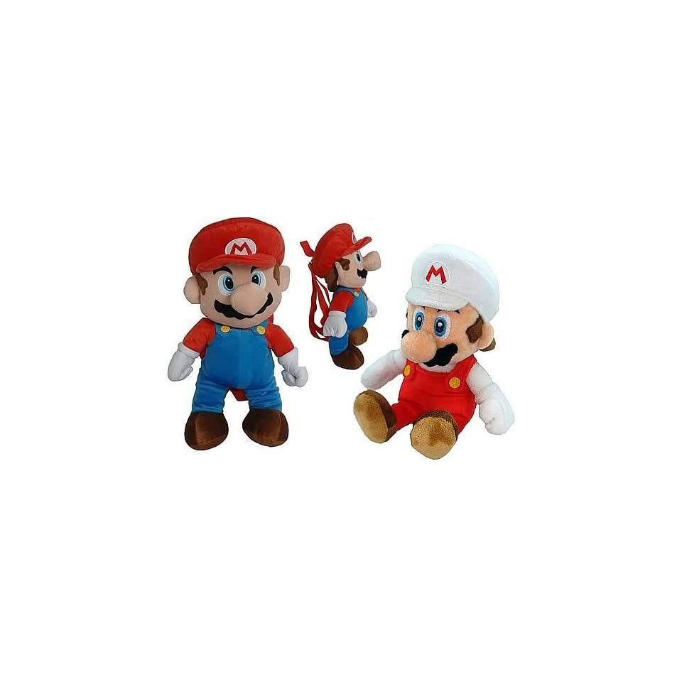 Nintendo Super Mario Bros. Mario Plush Backpack Case