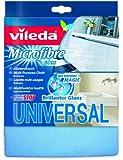 Vileda 116358 Microfaser Universal Allzwecktuch - für besondere Reinigungsleistung ohne Chemie mit Geruchsstoptechnologie - 5er Pack