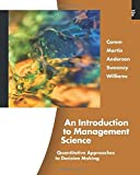 img - for An Introduction to Management Science (with Printed Access Card) book / textbook / text book
