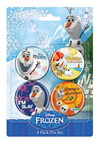 Disney Frozen Pin Set BA Button (4-Pack)