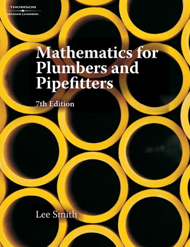 Mathematics for Plumbers and Pipefitters - Cengage Learning - 1428304614 - ISBN:1428304614