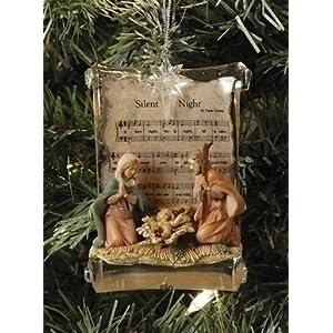 Click to buy Italian Christmas decorations : Fontanini Holy Family nativity ornament from Amazon!