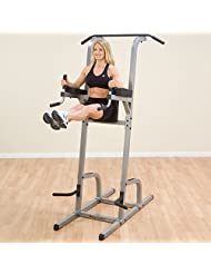 Body Solid Vertical Knee Raise, Dip and Pull Up Station