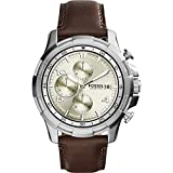 Fossil Men's FS5114 Analog Display Analog Quartz Brown Watch