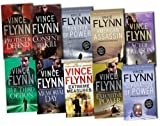 Vince Flynn Vince Flynn Mitch Rapp 10 Books Collection Pack Set RRP: £73.90 (Executive Power, Memorial Day, The Third Option, Consent to Kill, Extreme Measures, Protect and Defend, VINCE FLYNN ACT OF TREASON, Transfer of Power, Separation of Power, Amer