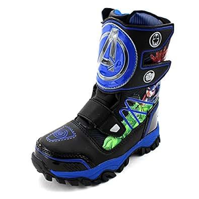 Amazon.com: Avengers Kids Winter Snow Boots: Shoes