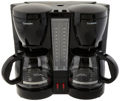 Coffee Brew Station ~ Cucinapro double coffee brew station black