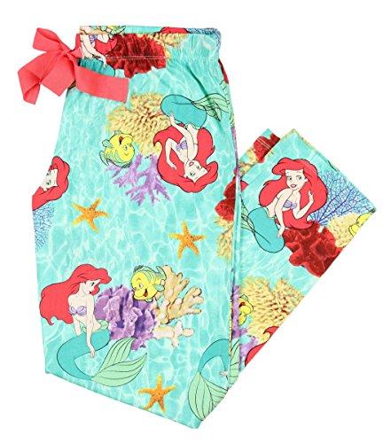 [Disney Ariel The Little Mermaid Women's Capri Sleep Pant (Small)] (Disney Little Mermaid Flounder Costume)