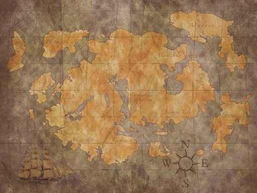Pirate Treasure Map Wall Decals Funkthishouse Com Funk