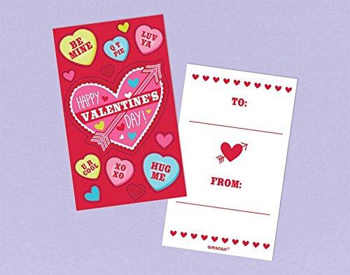 valentine card w/ stickers - 1