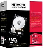 HGST Deskstar 3.5-Inch 1TB 7200RPM SATA II 16MB Cache Internal Hard Drive (0S00163)