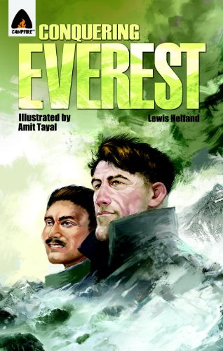 Conquering Everest: The Lives of Edmund Hillary and Tenzing Norgay (Campfire Graphic Novels)