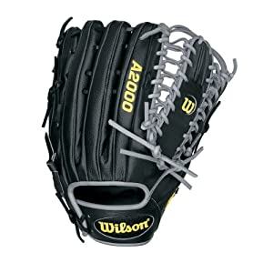 Wilson A2000BBOT6SS 12.75 A2000 Superskin Back Baseball Glove Right Handed Throw