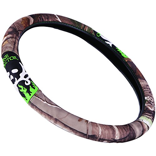 bone-collector-two-grip-steering-wheel-cover-realtree-ap-camo-interior-ring-sold-individually