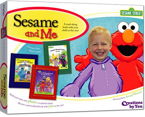 Sesame and Me: Make a read-along book with your child as the star! - 1