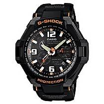 Men Casio GW4000-1A G-Shock G-Shock Shock Resistant Solar Black Dial Black Strap