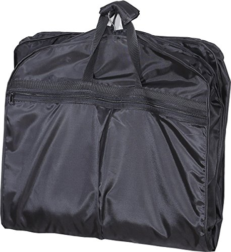 Mybestfurn Waterproof Multi-function Light Weight Garment Bag, Folding Suit Carry Bag With Waterproof Shoe Bag Travel Garment Suit Clothes Covers Carry Bag 40