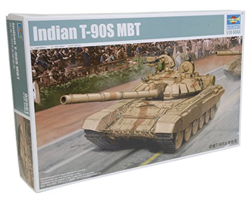 Indian Army T90S main battle tank