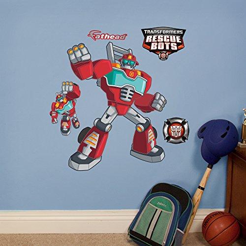 Fathead Transformers Heatwave Rescue Bots Vinyl Decals