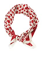 MOSCHINO CHEAP AND CHIC Pañuelo (Rojo / Blanco)