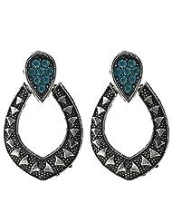 Krishnas Golden Color Earrings For Women-KT038