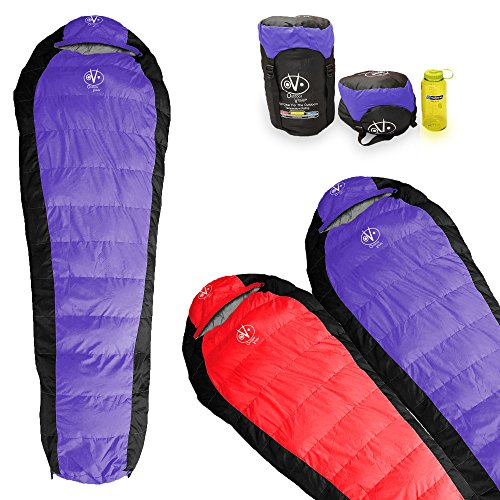 Outdoor Vitals Atlas 15°F & 30°F Lightweight Down Sleeping Bag with Compression Sack & - CAMP STUFFS