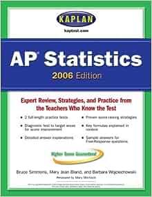 STATISTICS AP BOOK REVIEW