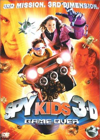 スパイキッズ 3-D : ゲームオーバー 飛び出す ! DTSスペシャルエディション ( 初回限定 3D & 2D 2枚組 ) [DVD]