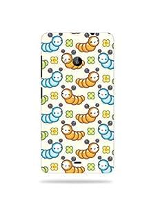 alDivo Premium Quality Printed Mobile Back Cover For Nokia Lumia 535 / Nokia Lumia 535 Printed Mobile Case (KT523-3D-O8-NL535)