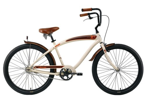 Nirve Classic Men's Cruiser Bike (26-Inch Wheels)