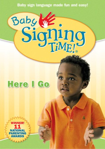 Cover art for  Baby Signing Time Volume 2: Here I Go DVD
