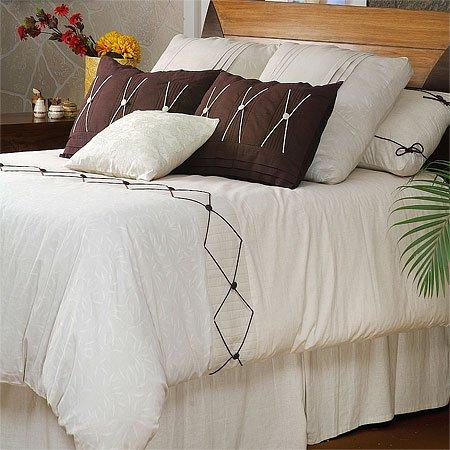 Cocoa Cotton Comforter Set, King