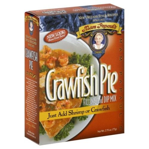 Mam Papaul's Dinner Mix Crawfish Pie, 2.75-Ounce (Pack of 6)